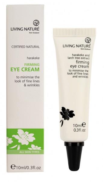 Living Nature Firming Eye Cream - Straffende Augencreme