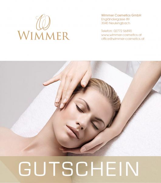 Wimmer Cosmetics Geschenkgutschein 30,- €