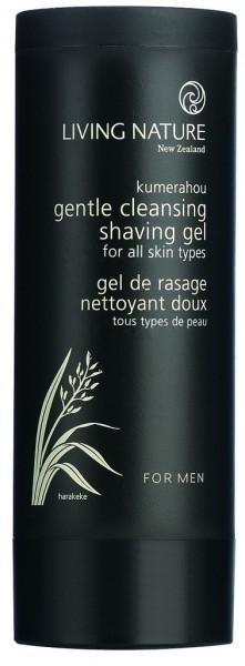 Living Nature Gentle Cleansing Shaving Gel
