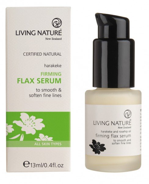 Living Nature Firming Flax Serum - Straffendes Flax Serum