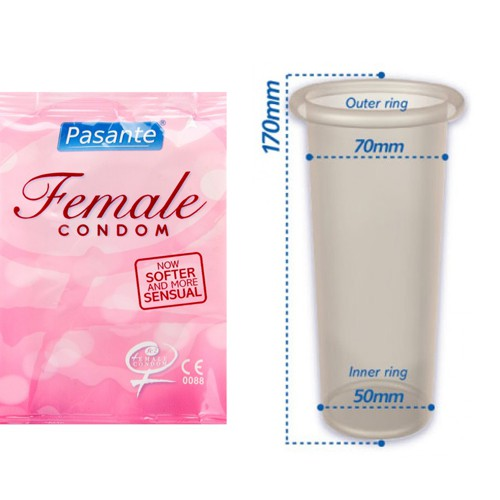 Pasante Frauenkondome 3 Stück