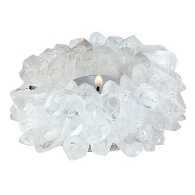 Teelicht Sonne Bergkristall