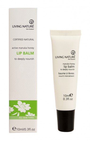 Living Nature Manuka Honey Lip Balm - Manuka Honig Lippenbalsam