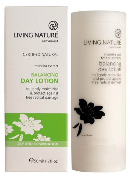 Living Nature Balancing Day Lotion - Ausgleichende Tageslotion