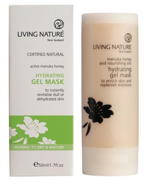 Living Nature Hydrating Gel Mask - Feuchtigkeitsgelmaske