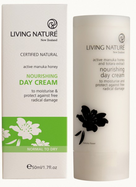 Living Nature Nourishing Day Cream - Nährende Tagescreme