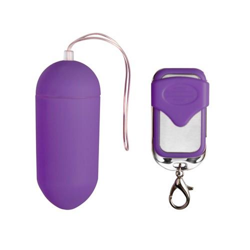 Vibro-Ei violett mit Funk-Fernbedienung