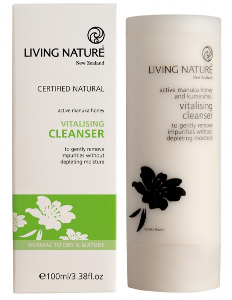 Living Nature Vitalising Cleanser - Vitalisierende Reinigungsmilch