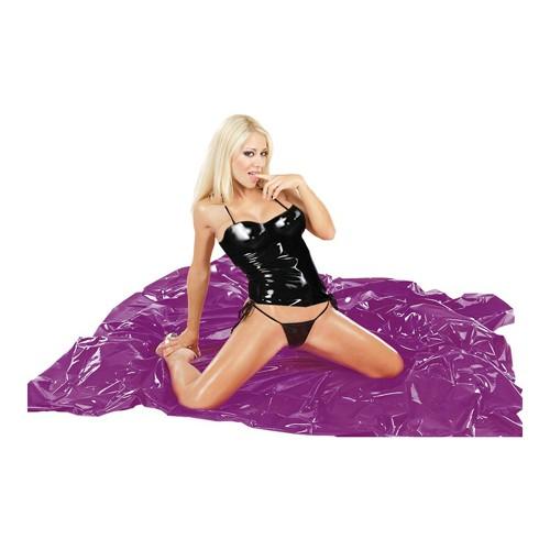 Lack Bettlaken violett
