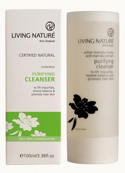 Living Nature Purifiying Cleanser - Klärendes Reinigungsgel