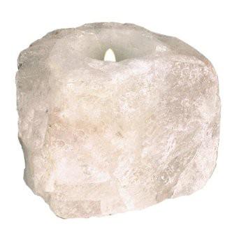 Teelicht Bergkristall roh
