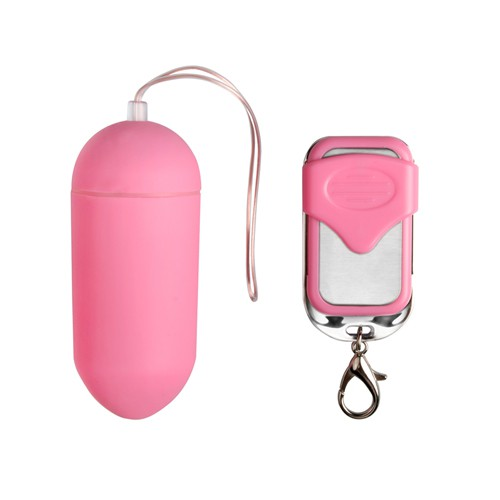Vibro-Ei pink mit Funk-Fernbedienung